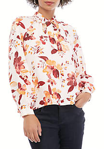 THE LIMITED Petite Ashton Top with Tie