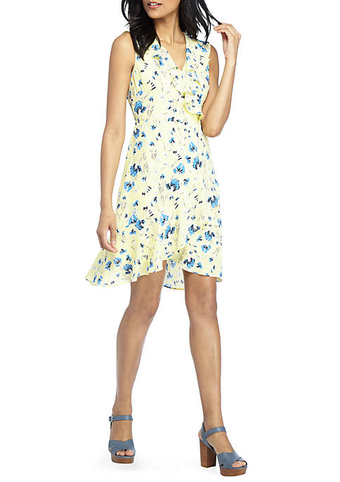 THE LIMITED Lazy Day Fluid Crepe Dress