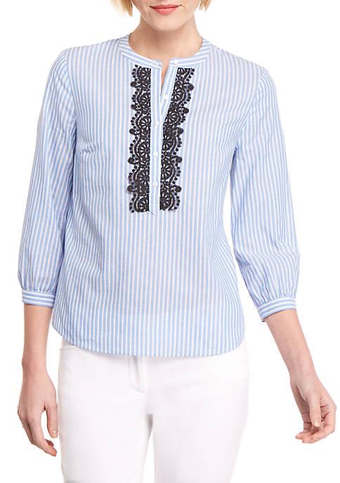 Stripe Peasant Shirt