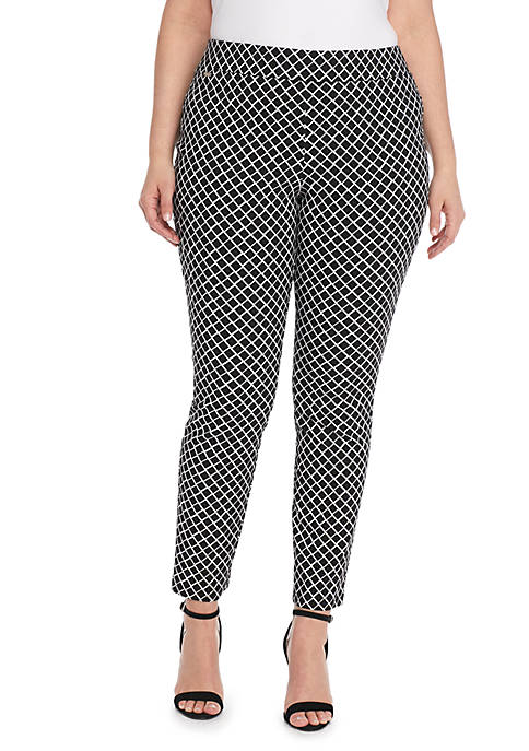 THE LIMITED Plus Size Signature Pull-on Ankle Pant