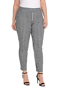 Plus Size Signature Pull-on Ankle Pant in Exact Stretch