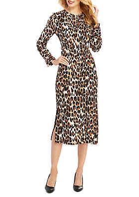 The Limited Midi Crepe Dress