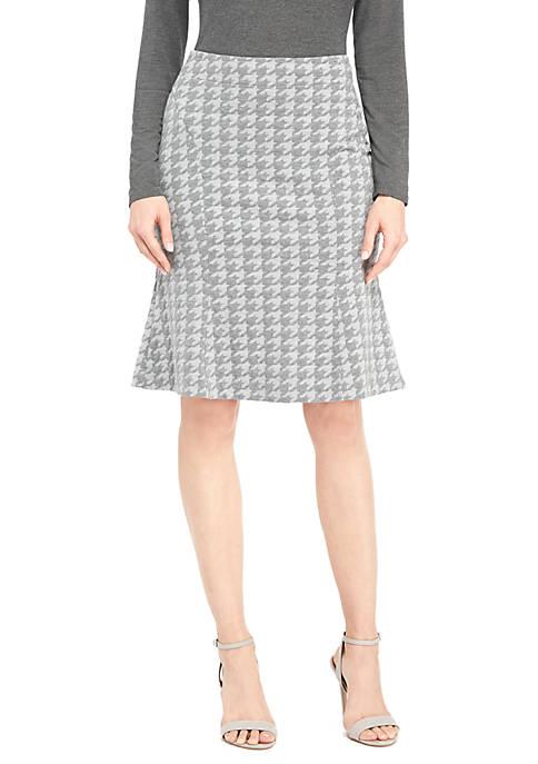 Skirt with Flutter Hem