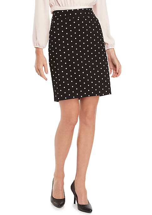Petite Signature Pencil Skirt in Exact Stretch
