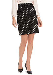 THE LIMITED Signature Pencil Skirt in Exact Stretch
