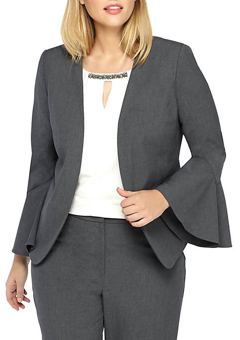 THE LIMITED Plus Size Bell Sleeve Blazer