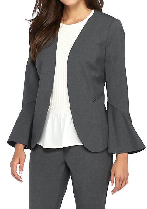 THE LIMITED Petite Bell Sleeve Blazer
