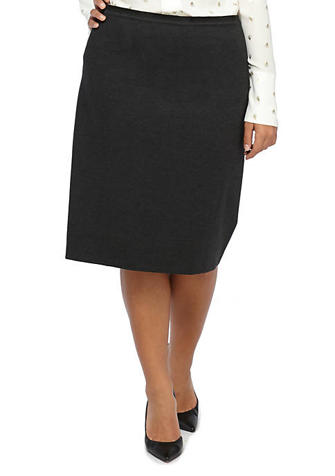 THE LIMITED Plus Size Ponte Pencil Skirt