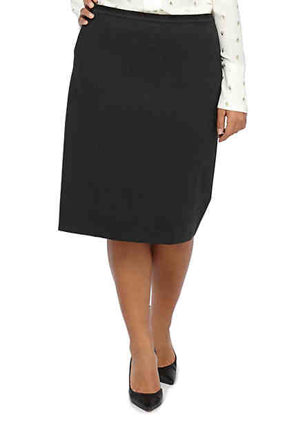 THE LIMITED Plus Size Ponte Pencil Skirt ...