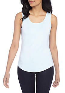 THE LIMITED Basic Scoop Neck Tank
