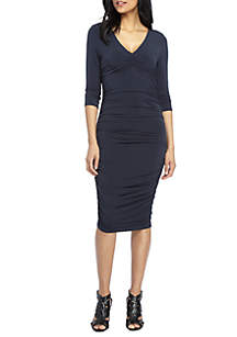 THE LIMITED Ruched Side Dres