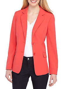 THE LIMITED Petite 2 Button Jacket in Modern Stretch