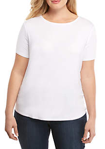 THE LIMITED Plus Size Short Sleeve Tee