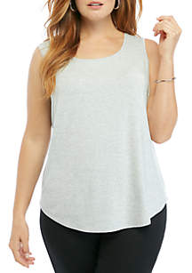THE LIMITED Plus Size Sleeveless Shell
