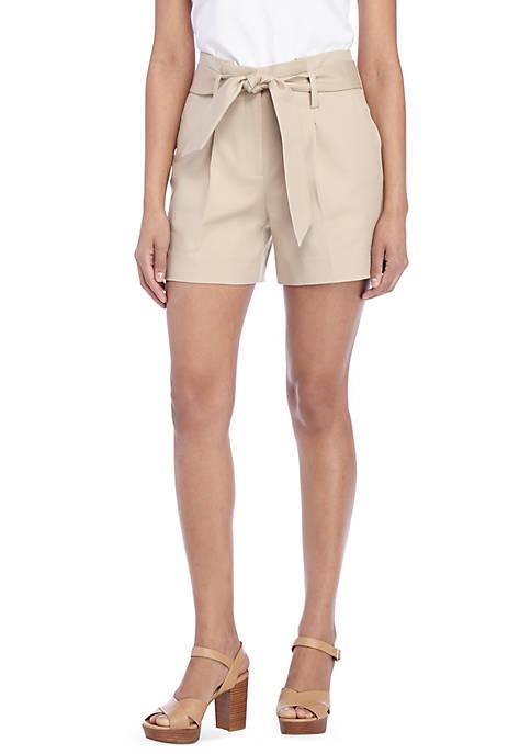 Petite Paper Bag Shorts