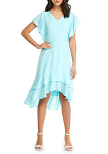 THE LIMITED High Low Ruffle Dress