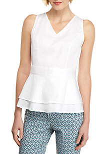 THE LIMITED Petite Cotton Sleeve Top