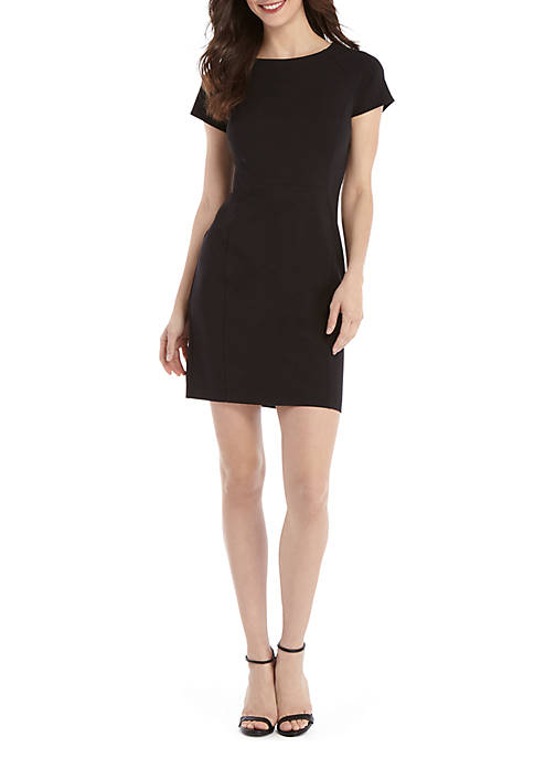 THE LIMITED Short Sleeve Ponte Dress