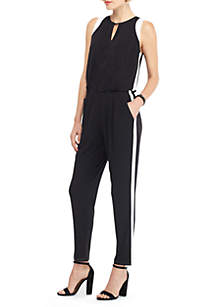 THE LIMITED Keyhole Stripe Jumpsuit