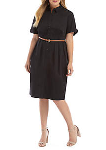 THE LIMITED Plus Size Shirt Dress