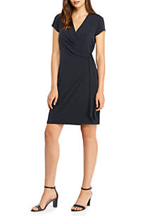 THE LIMITED Short Sleeve Wrap Dress