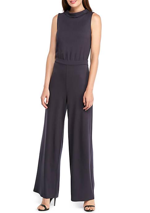 Petite Sleeveless Jumpsuit