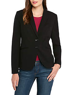 THE LIMITED Petite New Drew 2 Button Blazer in Modern Stretch