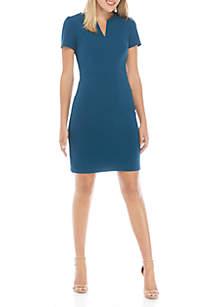 THE LIMITED Scuba Crepe Midi Dress