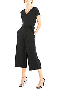 THE LIMITED Scuba Crepe Jumpsuit