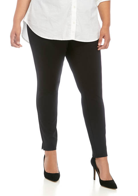 THE LIMITED Plus Size Ponte Pull On Leggings