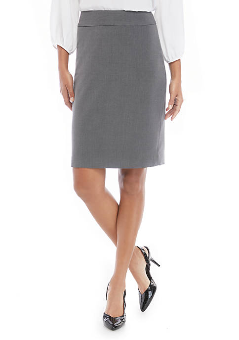 Pencil Skirt in Modern Stretch