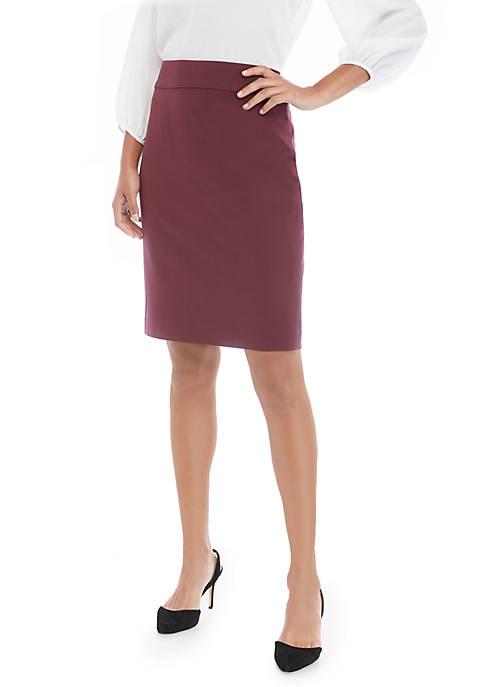 Pencil Skirt in Modern Stretch