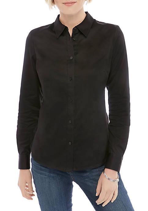 Woven Button Down Shirt