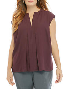 THE LIMITED Plus Size Cap Sleeve Ashton Top