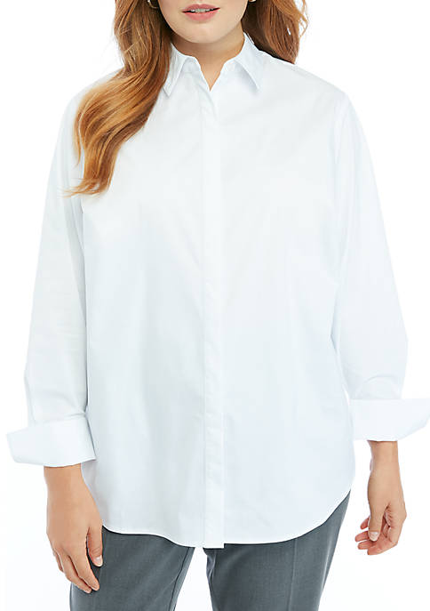THE LIMITED Plus Size Boyfriend Shirt
