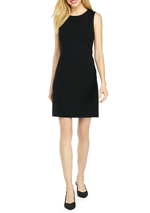 Sleeveless Dress in Modern Stretch