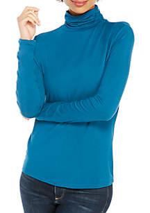 Long Sleeve Fashion Turtleneck Top