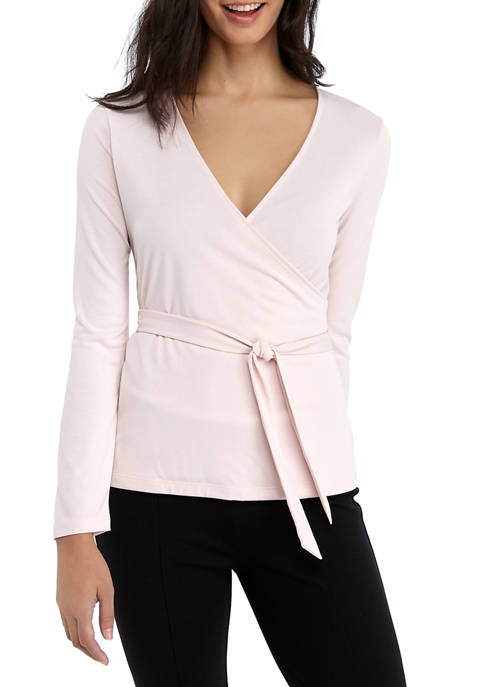 Womens Suede Modal Shirt