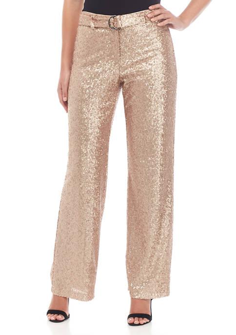 Womens Sequin Pants