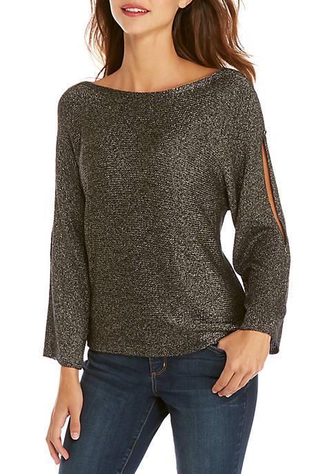 Shimmer Jersey Pullover