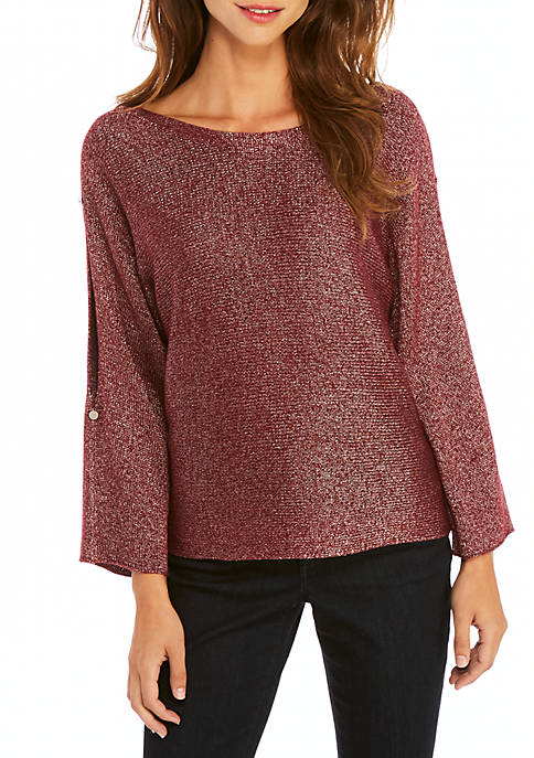 THE LIMITED Shimmer Jersey Pullover