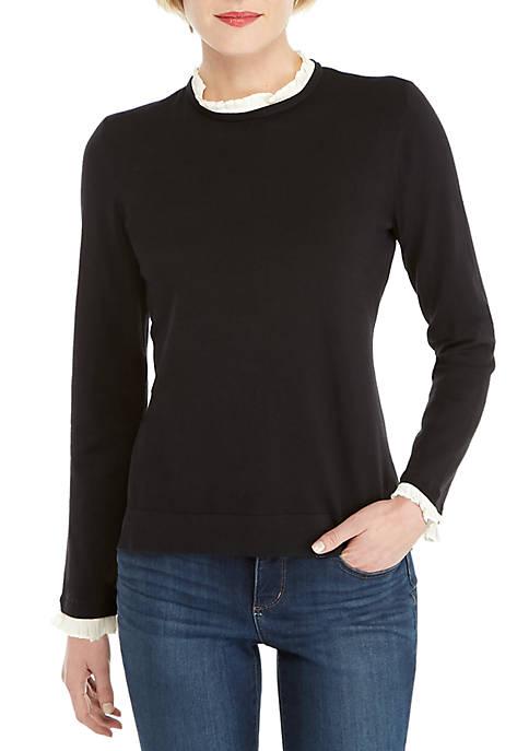 Petite Twofer Sweater