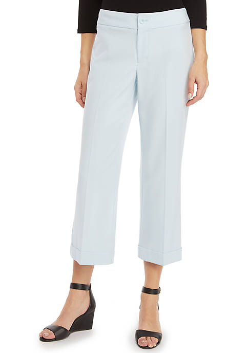 Womens Signature High Waisted Wide Leg Pants in Modern Stretch