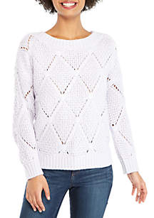 THE LIMITED Open Work Sweater
