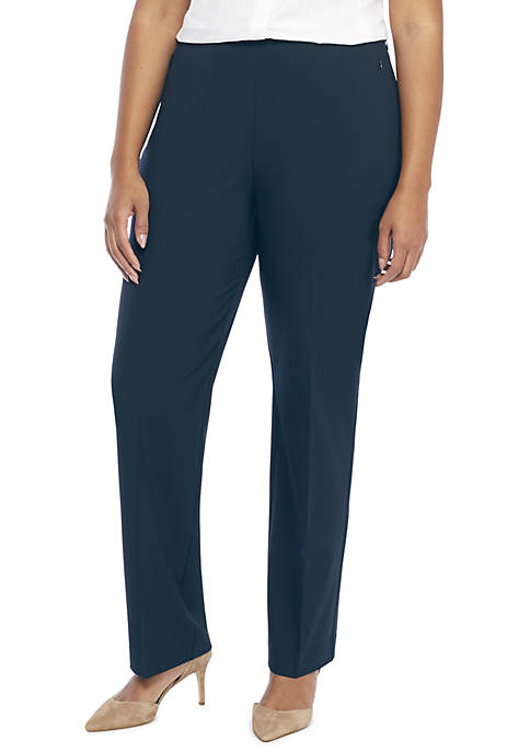 THE LIMITED Plus Size Signature Straight Pant with