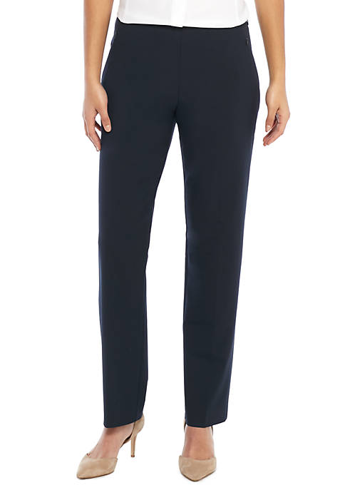 Signature Straight Pant with Zip Pockets in Modern Stretch