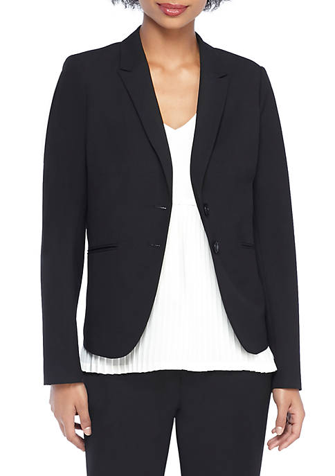 THE LIMITED Petite 2 Button Blazer