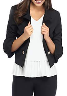 Buckle Sleeve Jacket