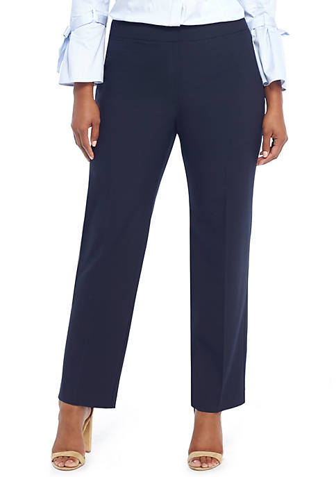 THE LIMITED Plus Size Signature Straight Pant in