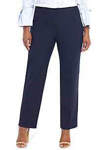 Plus Size Signature Straight Pant in Modern Stretch